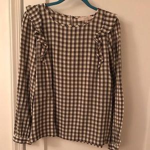 Ladies blouse/LOFT Sz L